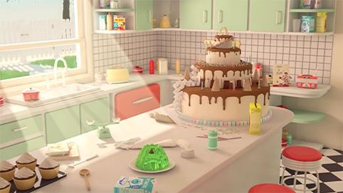illustration animation 3D