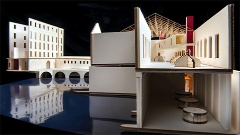 Illustration architecture intérieure
